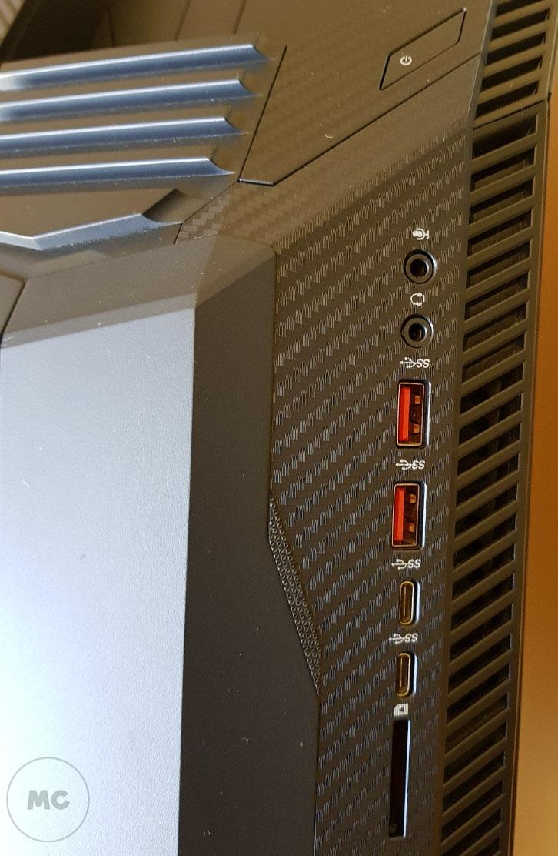 HP OMEN 880, análisis 44