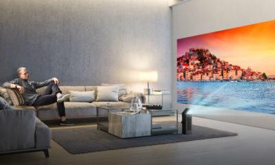 LG presenta su nueva gama de proyectores, el televisor libre 45