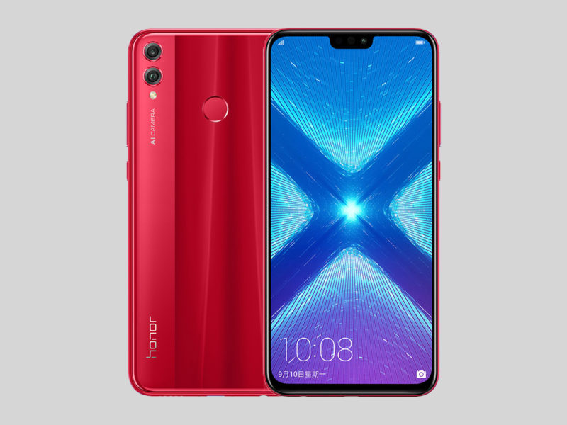 Honor 8X Rojo