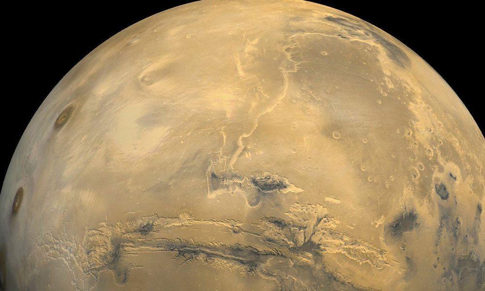 Marte tendría suficiente oxígeno bajo su superficie para albergar vida 33