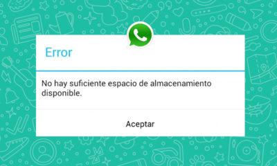 Práctico WhatsApp Liberar Almacenamiento