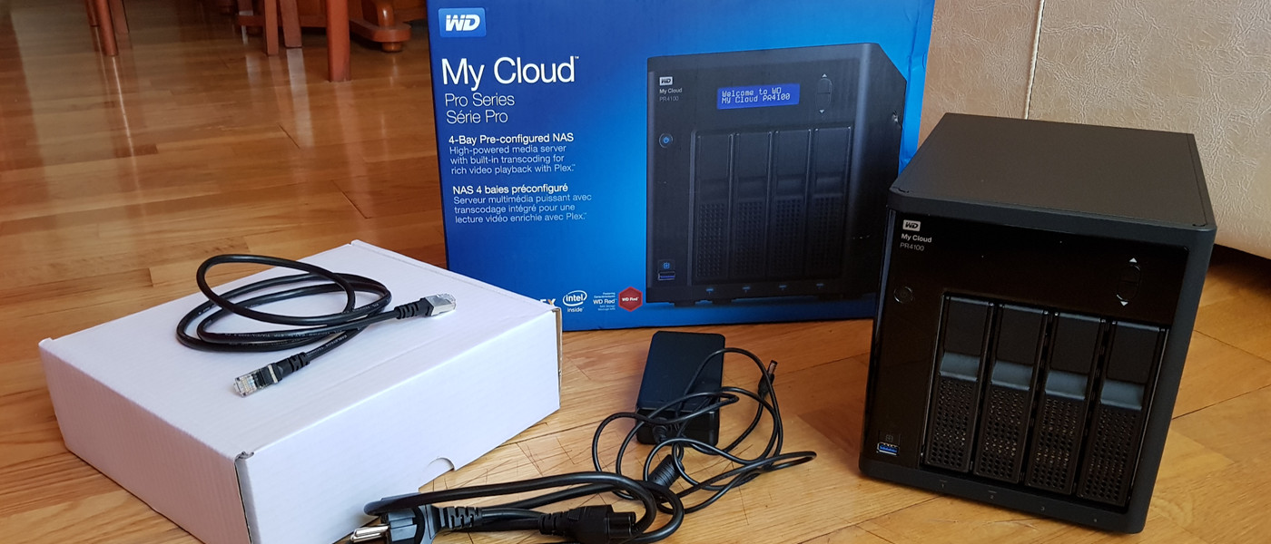 My Cloud Pro PR4100
