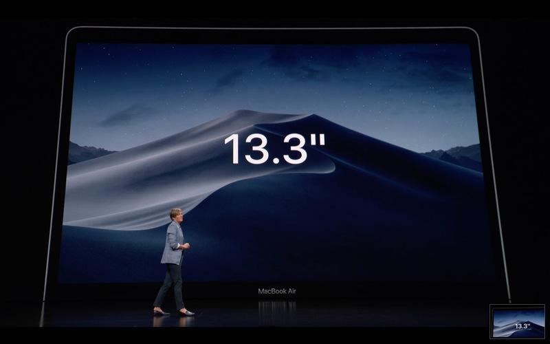 Apple presenta su nuevo MacBook Air 32