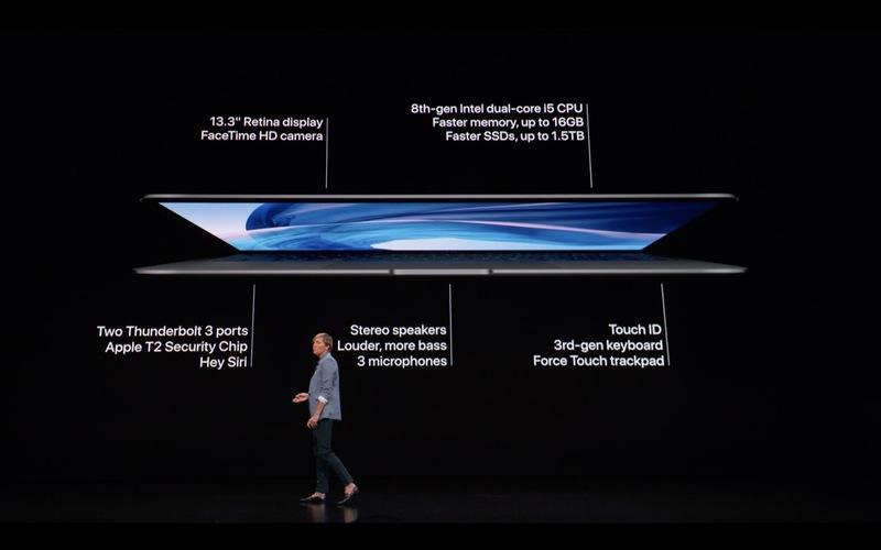 Apple presenta su nuevo MacBook Air 36