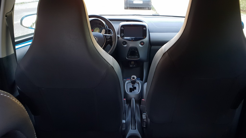 Toyota Aygo 2018, minimizar 47