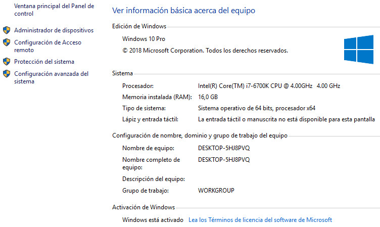 Cómo solucionar el fallo de activación de Windows 10 32