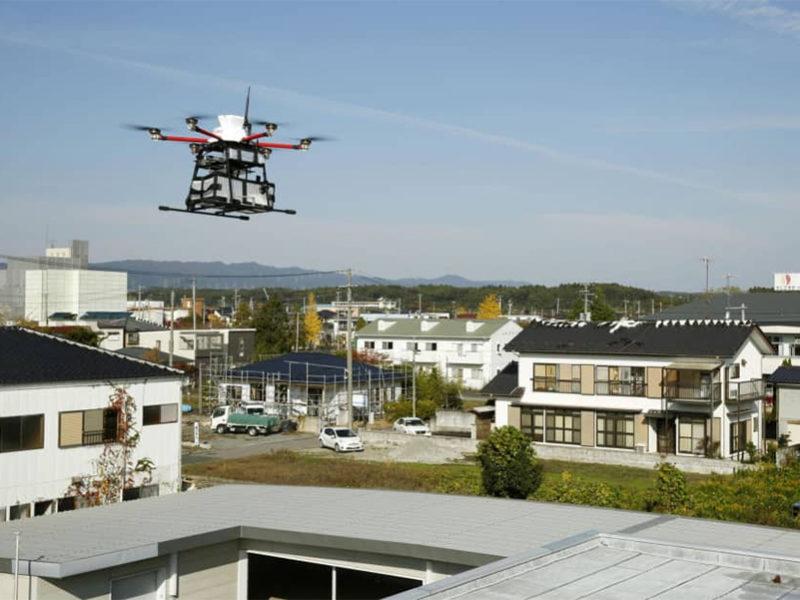 Drones Japan Post