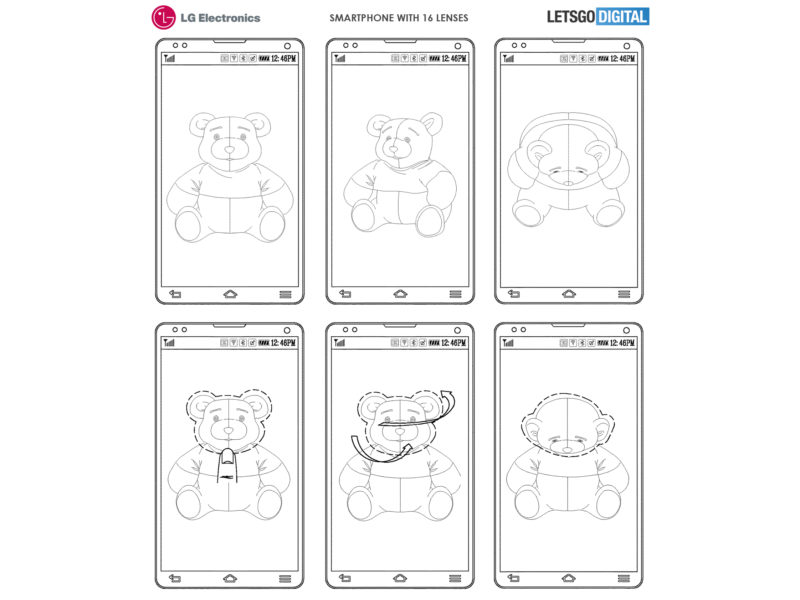 LG smartphone 16 cámaras