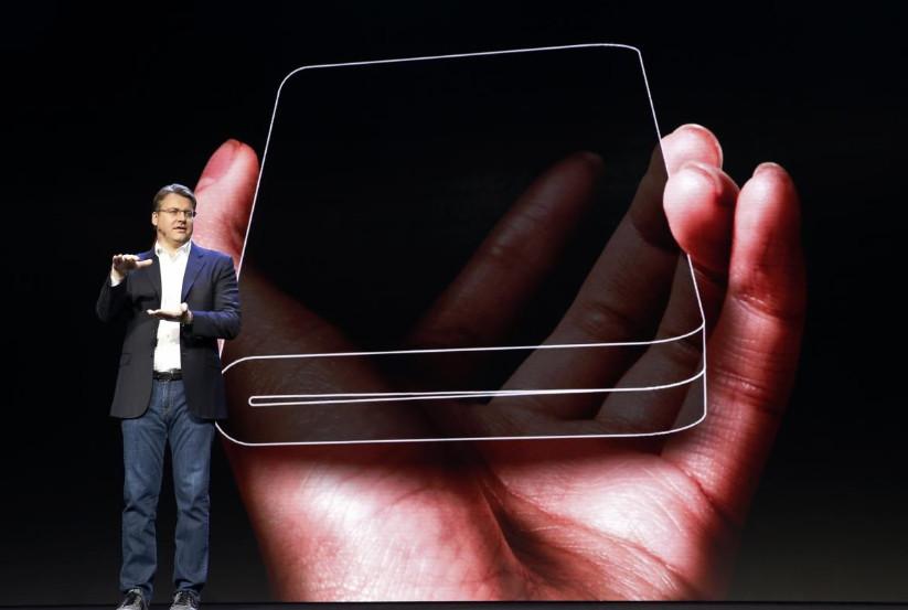 Samsung presenta su smartphone plegable 35