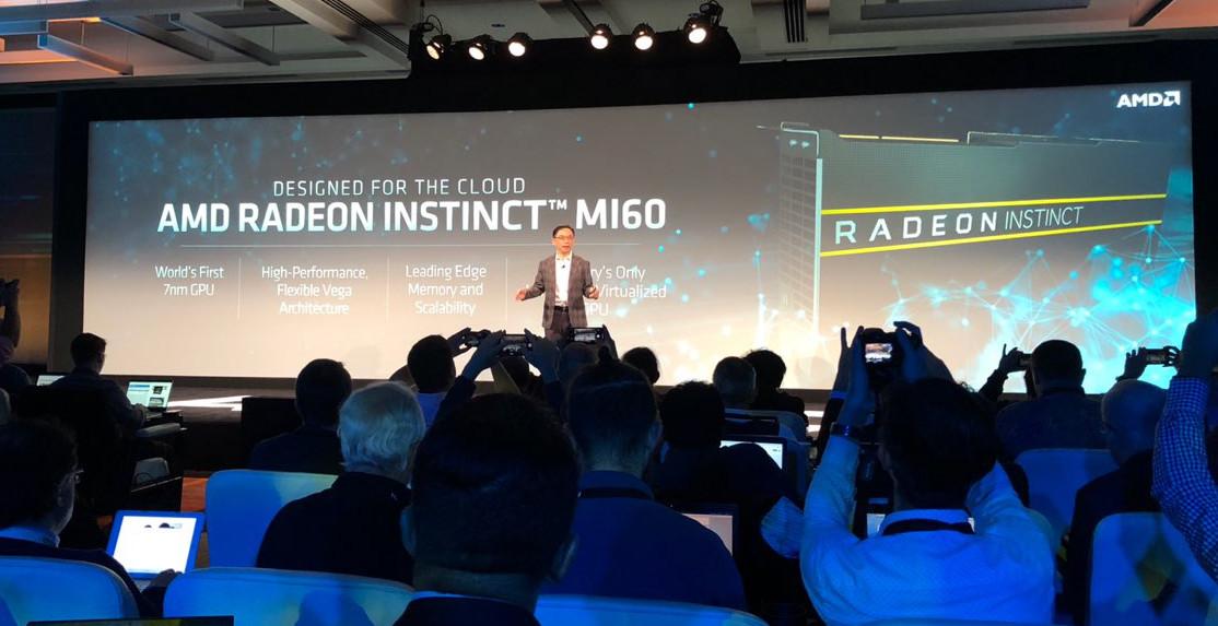 AMD presenta las primeras GPUs Vega 20, pero no son para juegos 32