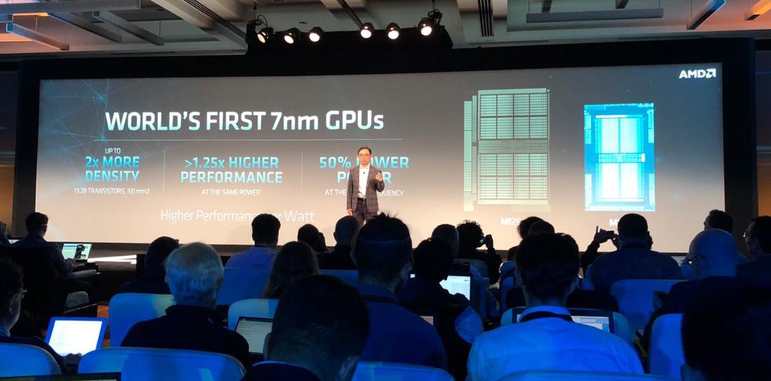 AMD presenta las primeras GPUs Vega 20, pero no son para juegos 34