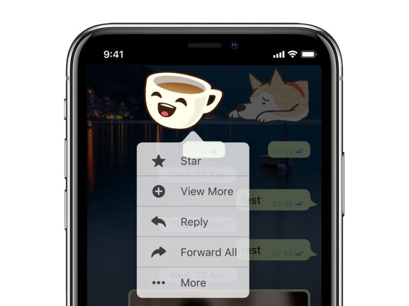 Whatsapp Stickers iOS