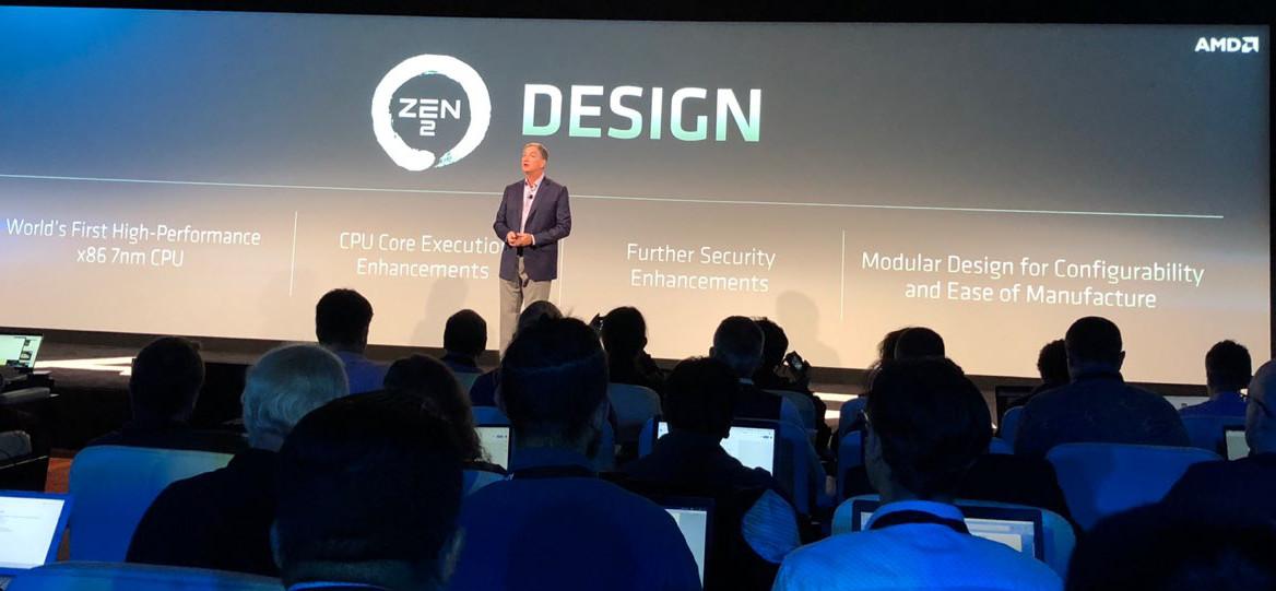AMD presenta la arquitectura Zen 2, la primera x86 de 7 nm 30