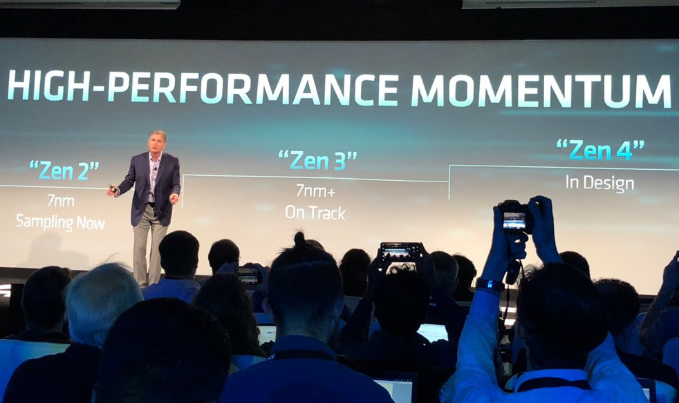 AMD presenta la arquitectura Zen 2, la primera x86 de 7 nm 40