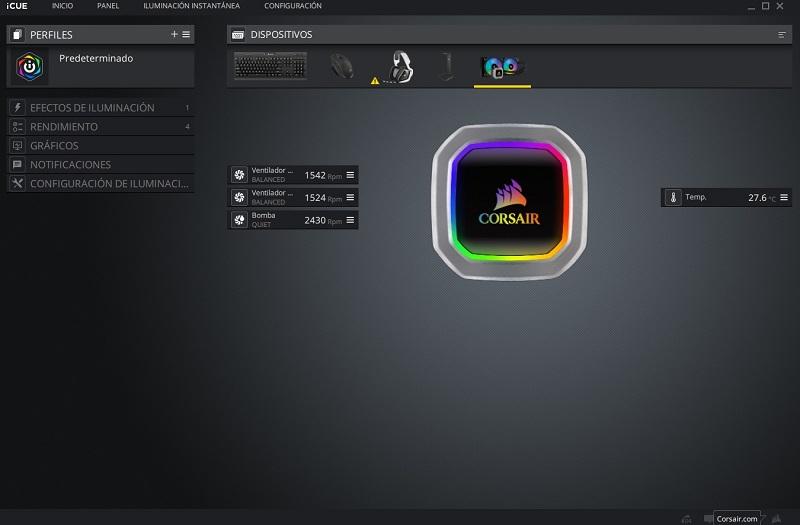 Corsair Hydro Series H100i RGB Platinum, análisis: el color del silencio 40