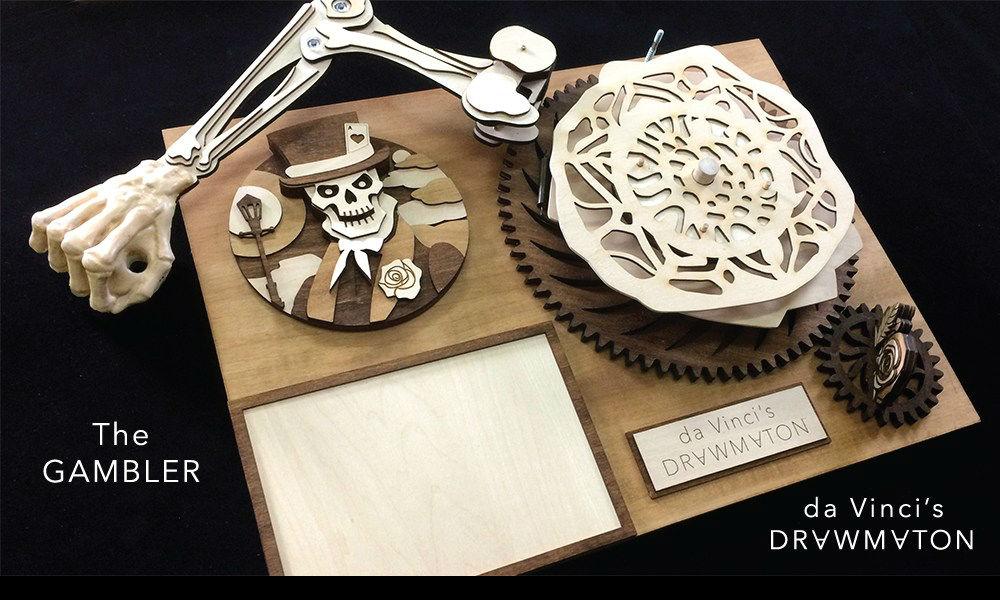 Da Vinci Drawmaton, el robot del renacimiento 29