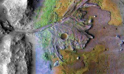 La NASA elige el cráter Jezero como nuevo lugar de aterrizaje en Marte 109