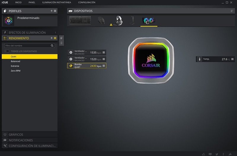 Corsair Hydro Series H100i RGB Platinum, análisis: el color del silencio 41