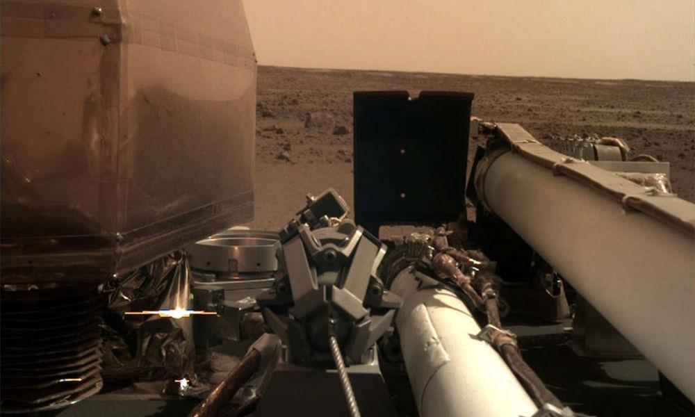 InSight ya manda imágenes a la Tierra 33