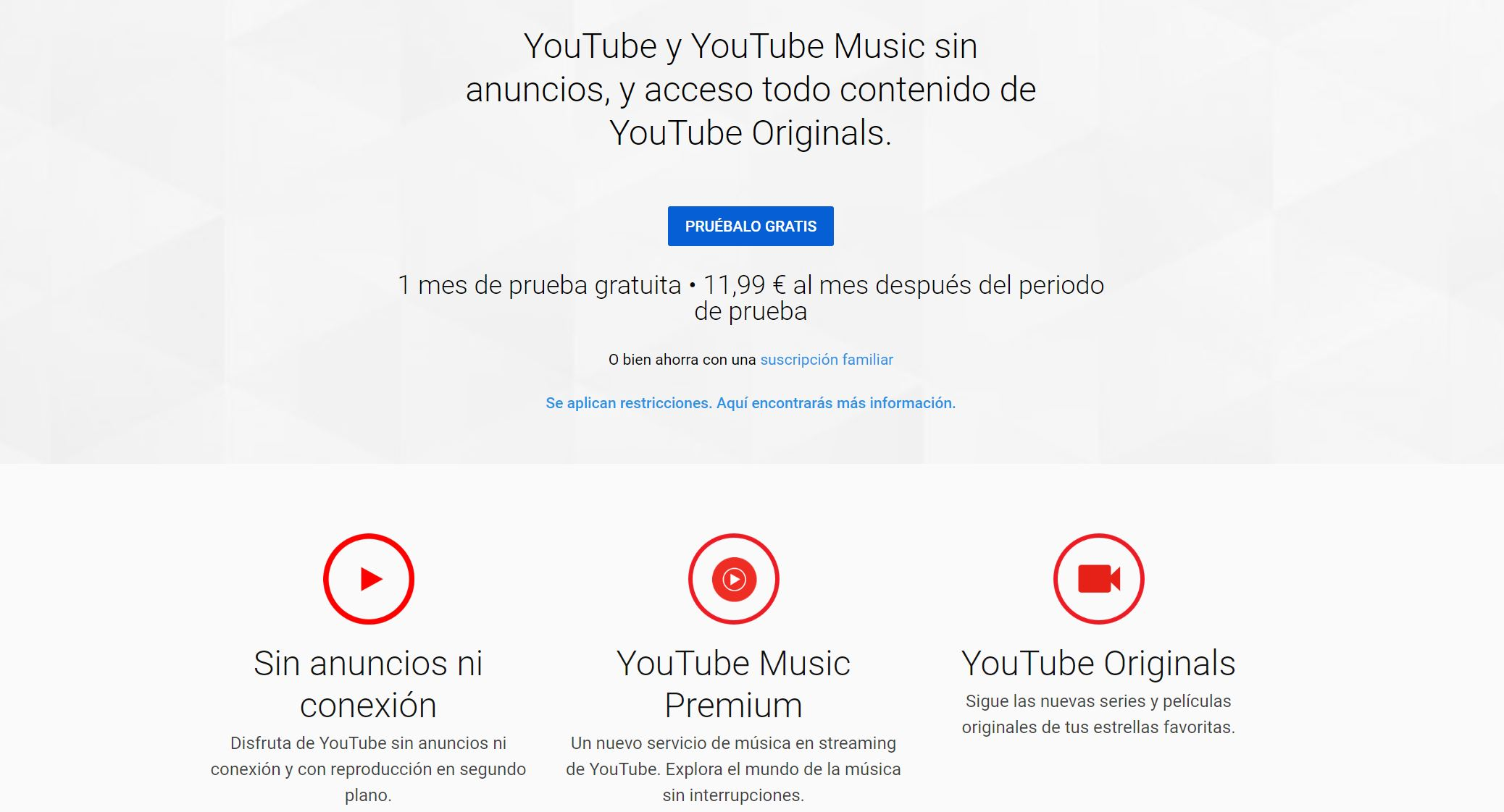 YouTube ofrecerá todo su contenido gratis, pero con anuncios 39