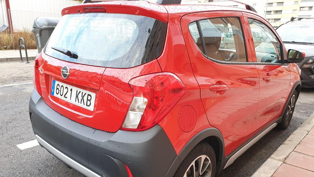 Opel Karl Rocks, discreción 30