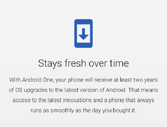 Desaparece el aviso de dos años de actualizaciones en Android One (actualizada) 30