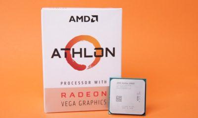 AMD Athlon 220GE y Athlon 240GE: nuevas APUs de gama básica 55