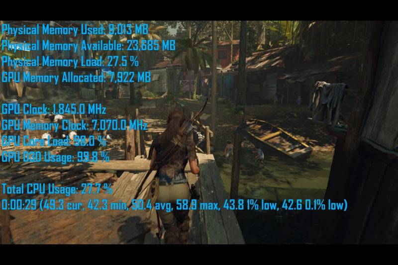 Diferencias Memorias RAM Shadow Tomb Raider