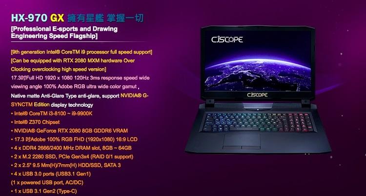 Especificaciones de las GeForce RTX 2080, RTX 2070 y RTX 2060 Mobile 34