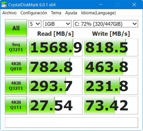 Analizamos la Kingston SSD A1000, NVMe a precio de SATA 42