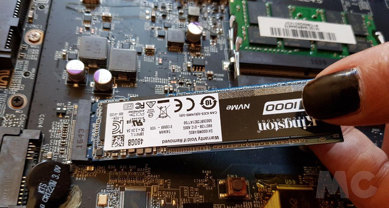 Analizamos la Kingston SSD A1000, NVMe a precio de SATA 34