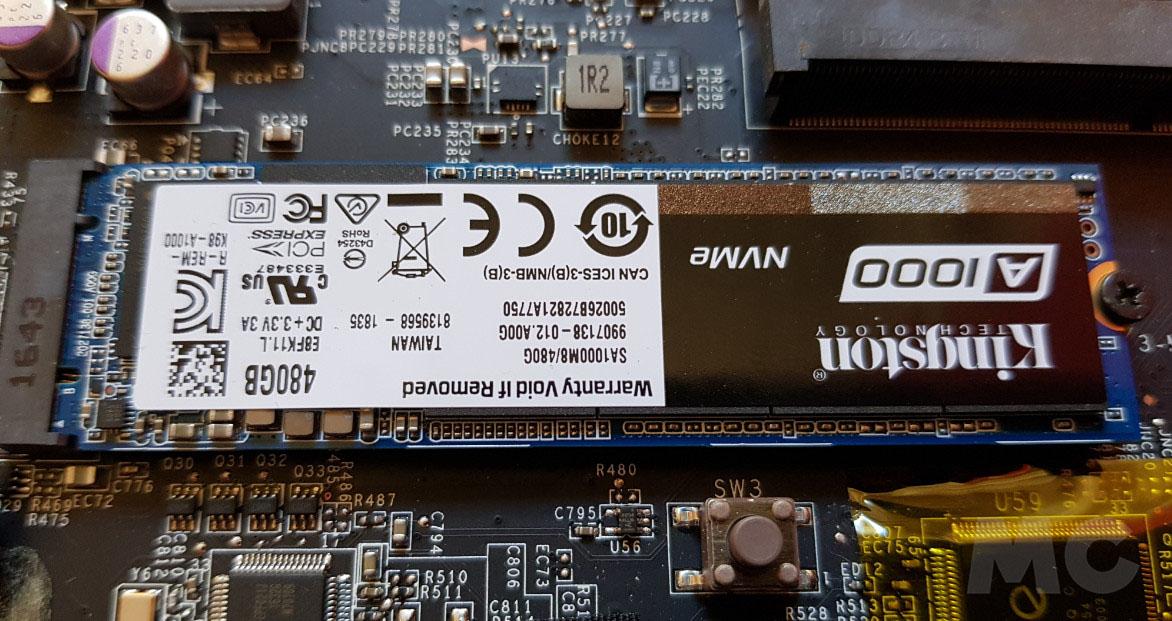 Analizamos la Kingston SSD A1000, NVMe a precio de SATA 36