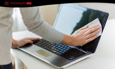 limpiar físicamente un portátil