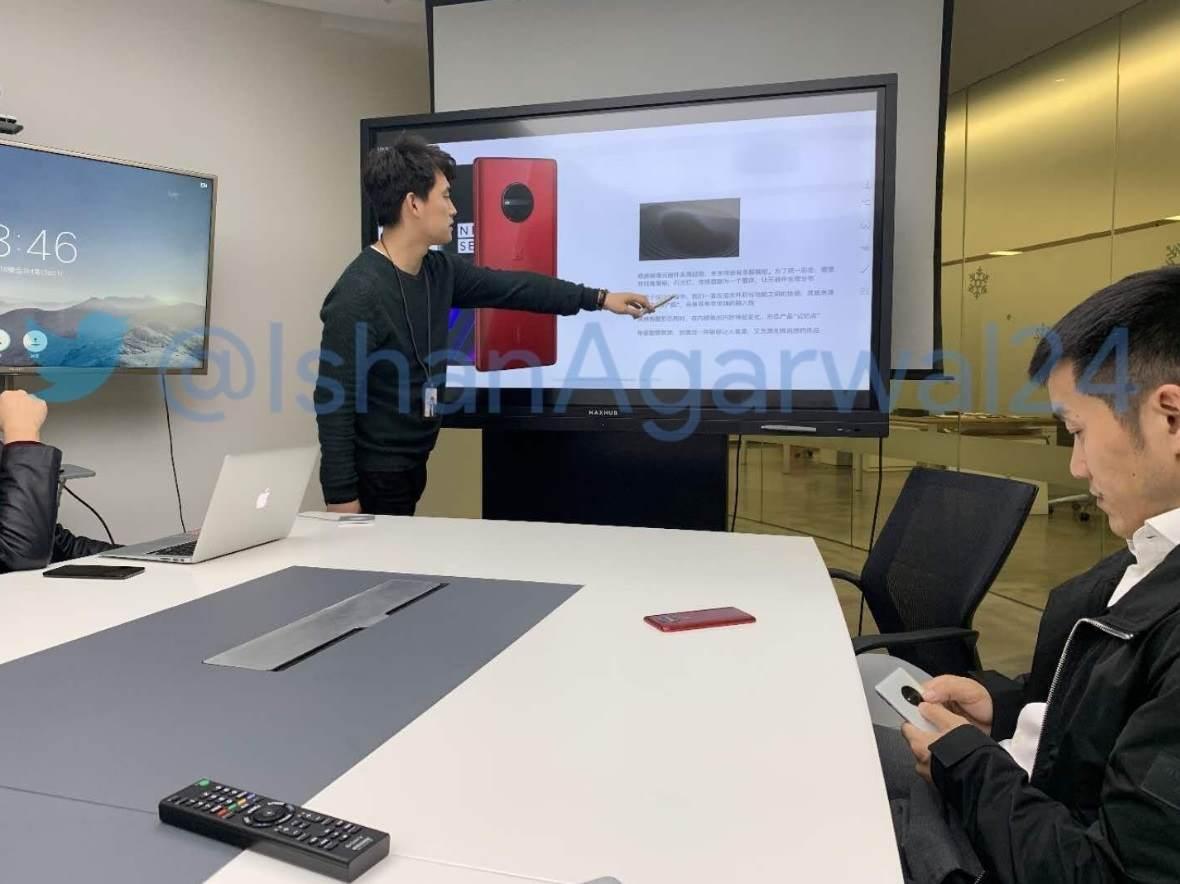 Primera imagen del OnePlus 7: así luce el prototipo de lo nuevo de OnePlus 32