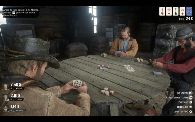 Red Dead Redemprion 2 Póker