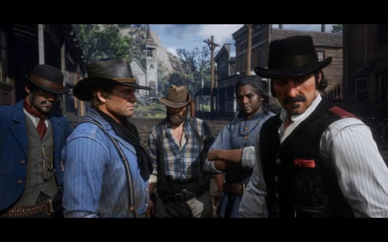 Red Dead Redemprion 2 Personajes