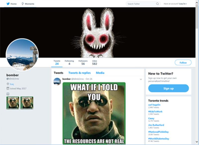 Twitter Memes Malware