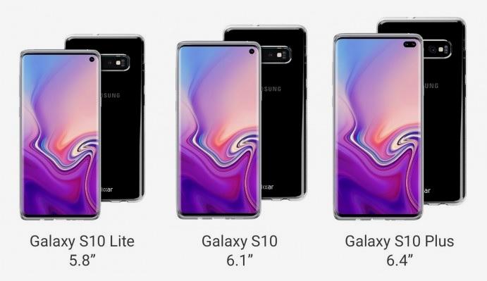 Olixar filtra el diseño del Galaxy S10: cuatro cámaras traseras y dos frontales, precio 34