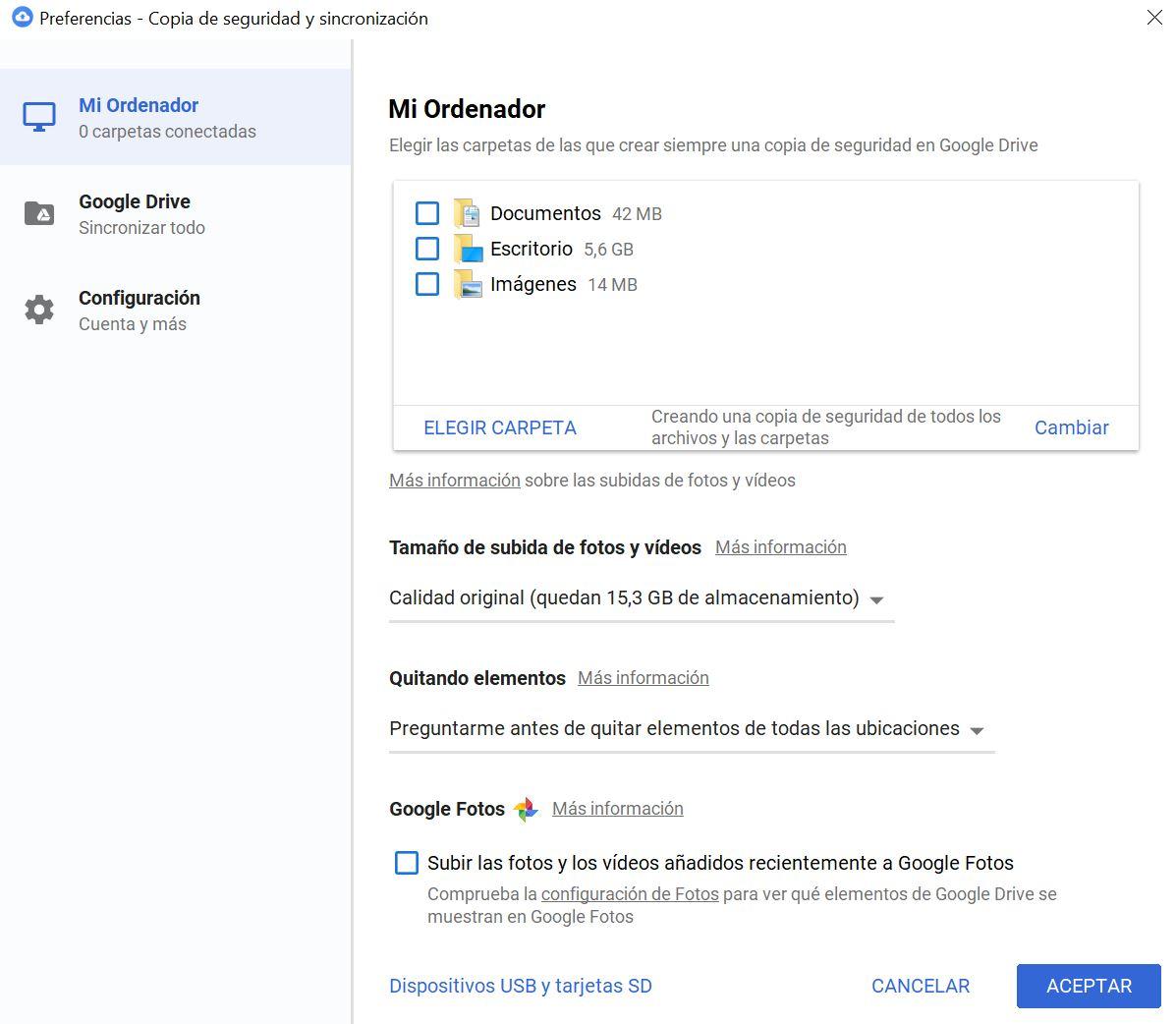 Cómo hacer una copia de tu disco duro en Google Drive » MuyComputer