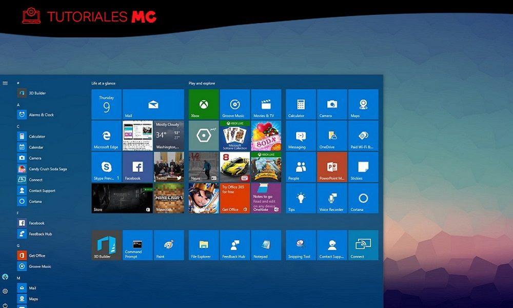 Cómo reparar el botón de inicio y la barra de tareas en Windows 10 32