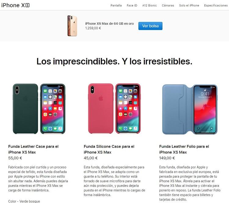 Apple demandada por publicidad engañosa que oculta la muesca del iPhone XS 32