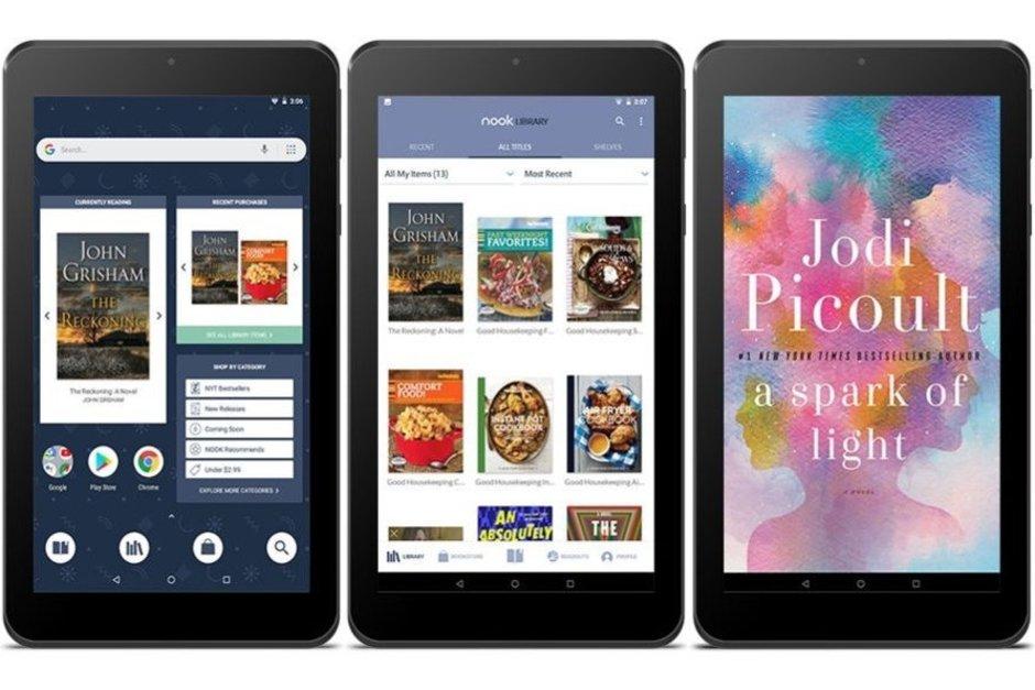 Barnes & Noble presenta su nuevo Nook 32