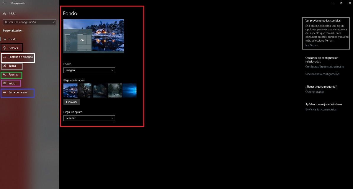 Cómo personalizar Windows 10: escritorio, tema y colores 36