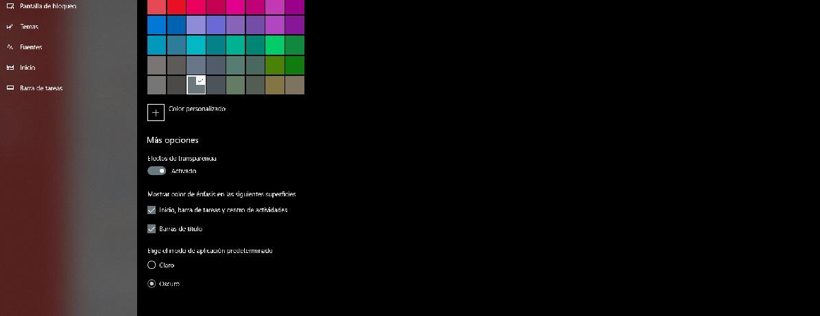 Cómo personalizar Windows 10: escritorio, tema y colores 38