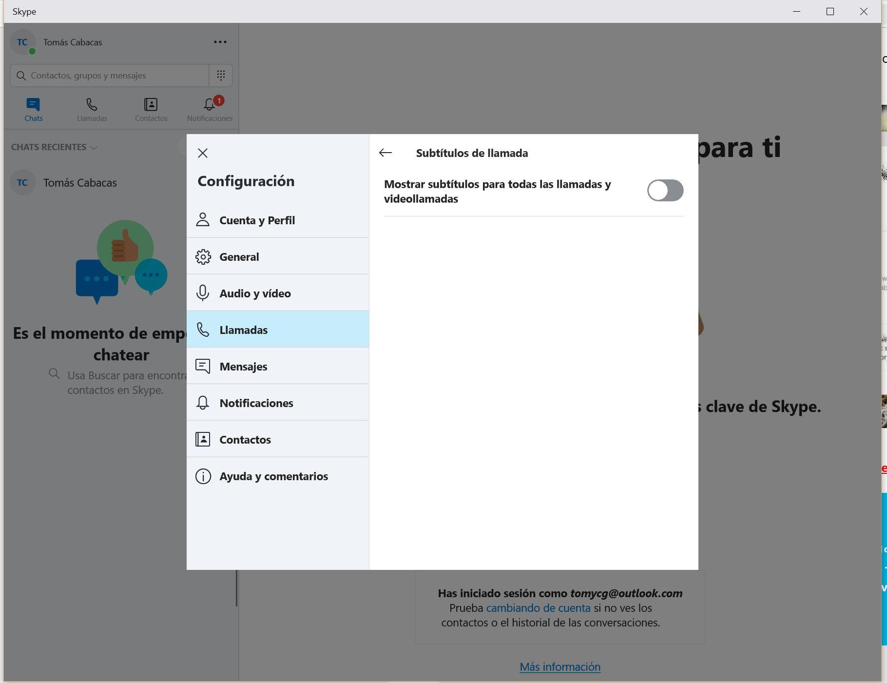 Cómo activar los subtítulos en Skype 31
