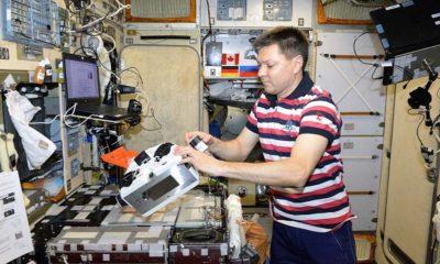 Un astronauta ruso imprime por primera vez tejido vivo en el espacio 47