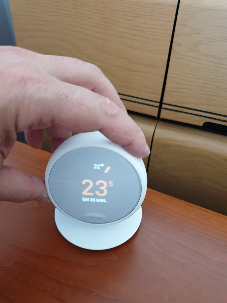 Nest Thermostat E, escuela de calor 41