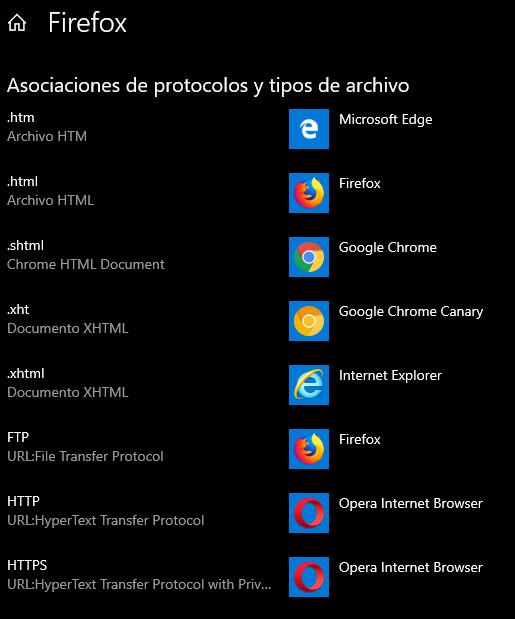 Cómo cambiar las aplicaciones predeterminadas en Windows 10 34
