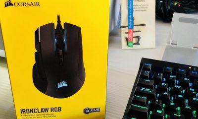 Corsair IRONCLAW RGB, análisis: un ratón para jugar con mano de hierro 130
