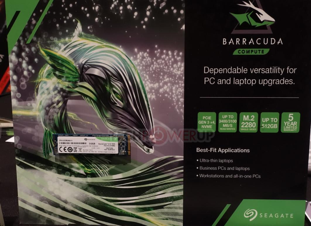 FireCuda 510 y BarraCuda 510